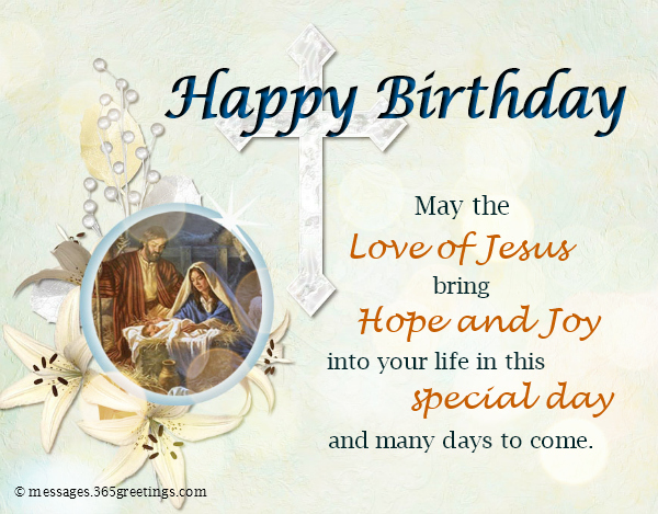 Birthday Wishes For Sister In Christ ~ Christian birthday wishes religious greetings