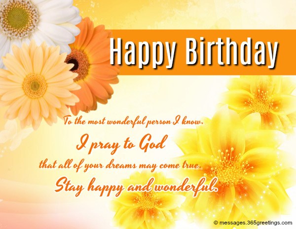 Wishing You A Very Happy Birthday May God Always Shower His Love On