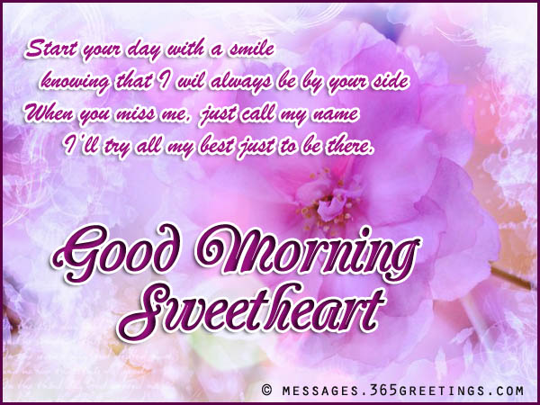 good-morning-messages-for-girlfriend - 365greetings.com
