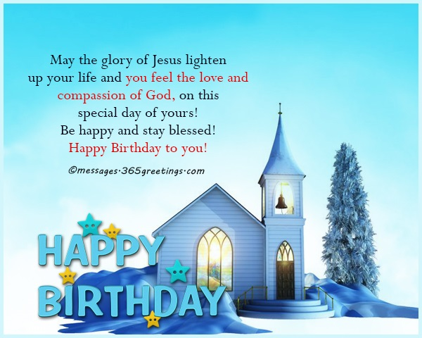 Christian Birthday Wishes Religious Birthday Wishes – Religious Birthday Card Messages