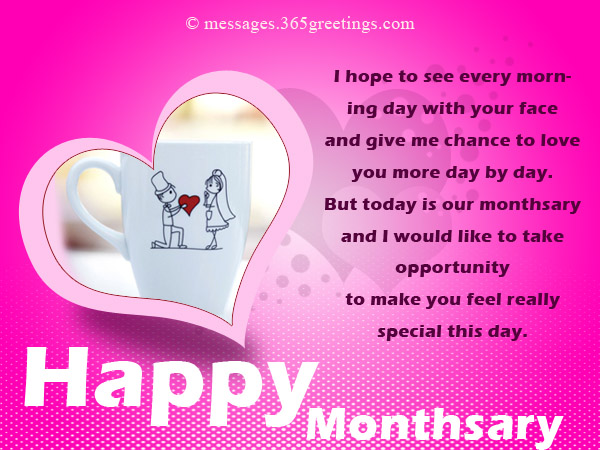 Monthsary Messages For Girlfriend - 365greetings com