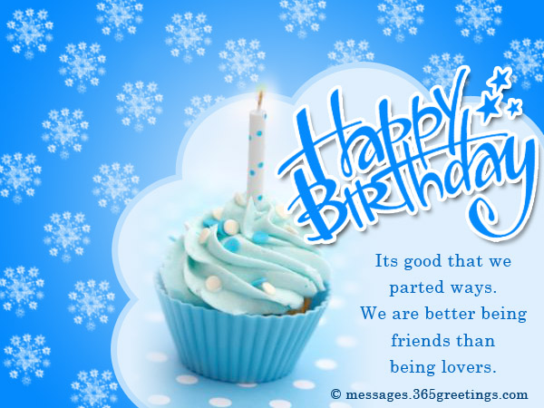 Birthday Wishes For Ex Boyfriend 365greetings – Birthday Wish Greeting Images