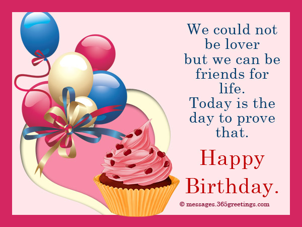 Birthday Wishes For Ex Boyfriend 365greetings – Birthday Text Greetings