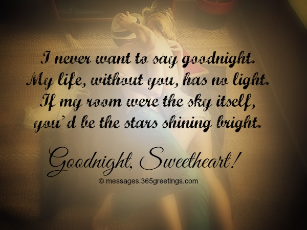 Goodnight Messages Quotes For Her 365greetings Com