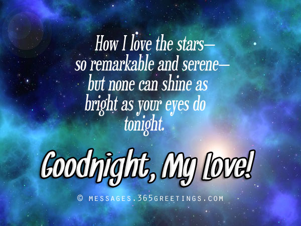 Romantic good night messages 365greetings goodnight messages for girlfriend m4hsunfo Image collections
