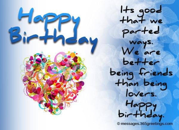 Birthday Greeting Cards For Ex Boyfriends List Wishes Boyfriend Greetings