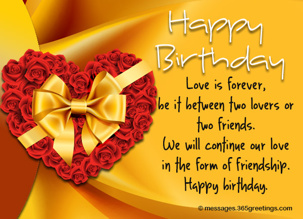 Birthday Wishes For Ex Boyfriend - 365greetings com