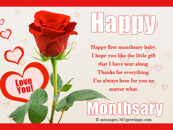 Monthsary Greetings For Boyfriend