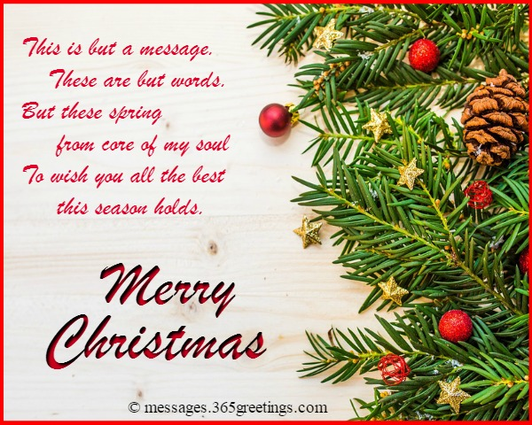 Christmas Messages for Boyfriend - 365greetings.com