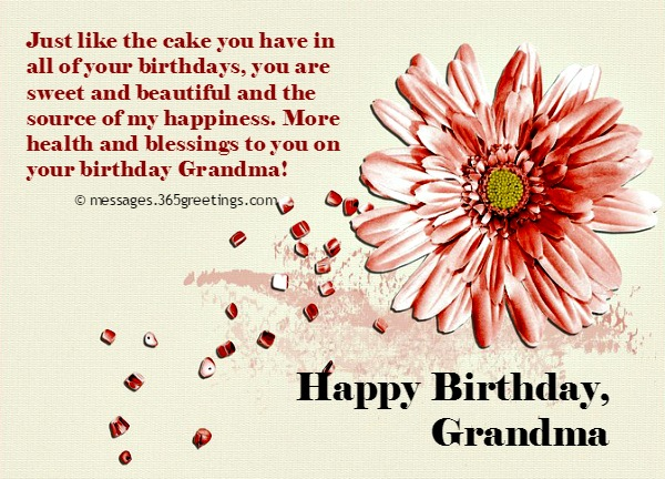 If You Are Not Very Good With Words Let Us Help These Sweet Birthday Wishes For Your Grandma