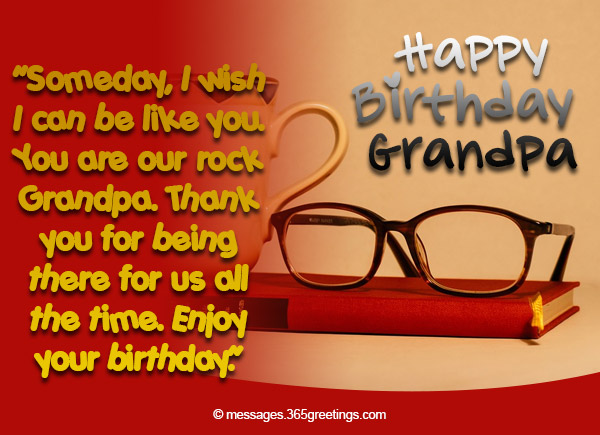 Birthday Wishes For Grandparents 365greetings Com Thanking Happy Birthday Wishes