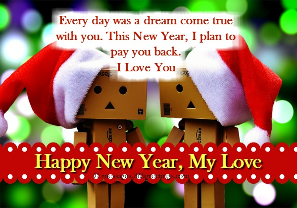sweet new year card messages for boyfriend new year wishes for my boyfriend