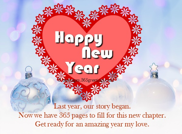 New Year Messages For Boyfriend : Happy new year wishes for boyfriend greetings