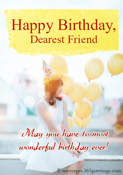 Birthday Wishes For Friends Messages