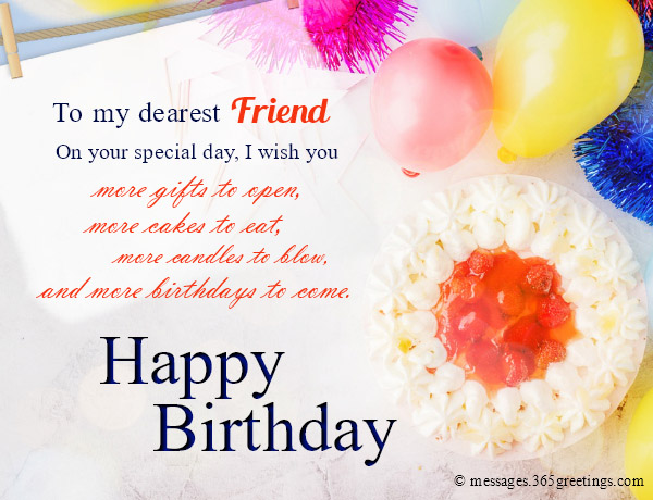 Happy Birthday Wishes For Friends - 365greetings com