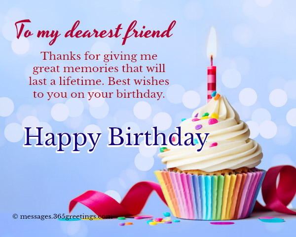 happy birthday messages for friend 365greetings com