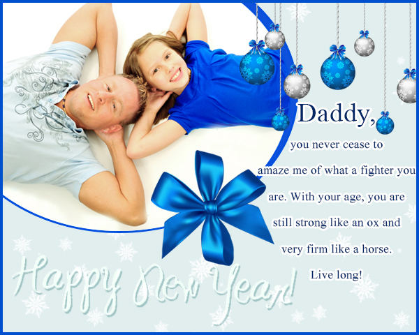 new year wishes for your dad