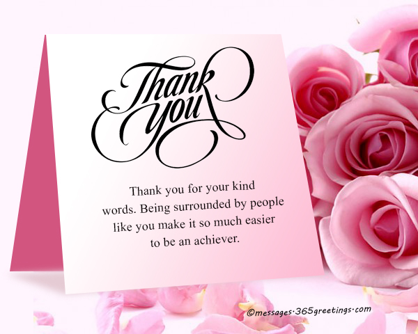 How to say thank you for a compliment 365greetings i would not have made it this far was it not for your tremendous support and encouragements thank you for the compliments m4hsunfo