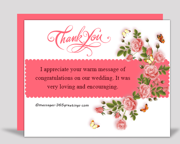 Thank You Messages For The Congratulations 365greetings Com