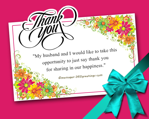 Thank you messages for the congratulations 365greetings thank you response to a congratulations m4hsunfo