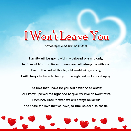 Love my poem forever The Love