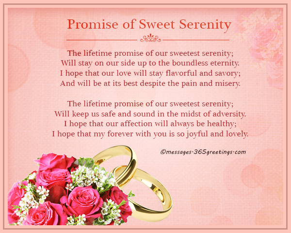 The Lifetime Promise Of Our Sweetest Serenity Will Stay On Side Up To Boundless Eternity I Hope That Love Flavorful And Savory