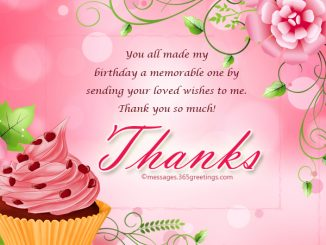Thank you messages archives 365greetings thank you message for birthday wishes on facebook m4hsunfo