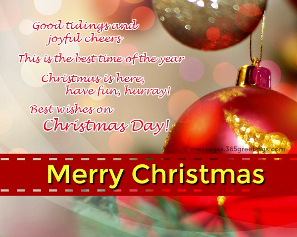 best wishes at christmas time