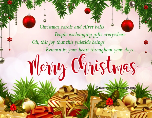 Christmas greetings messages 365greetings we understand that writing a message for christmas card could be time consuming especially when a writers block hit you so we hope that these christmas m4hsunfo