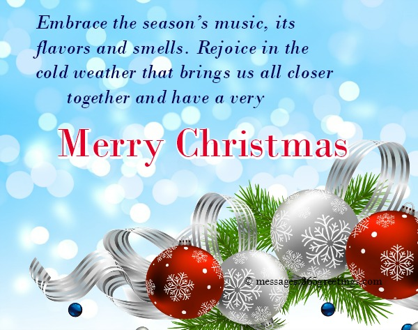 Christmas greetings messages 365greetings every year i wish for a white christmas and even though the snow doesnt always come i can always count on my friends and family to brighten up the m4hsunfo