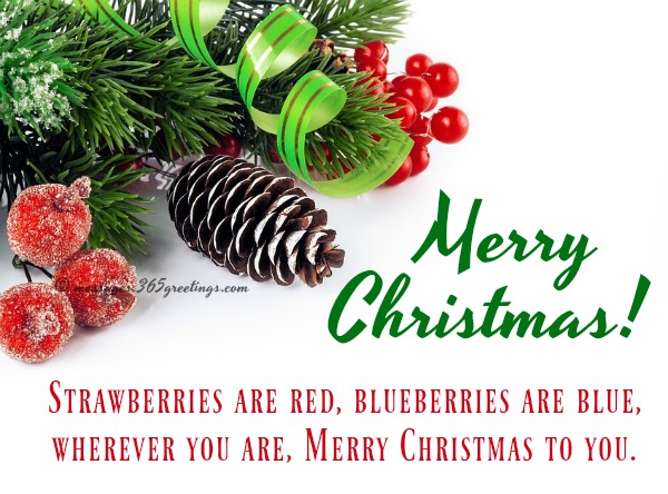 Merry Christmas Wishes Text - 365greetings.com