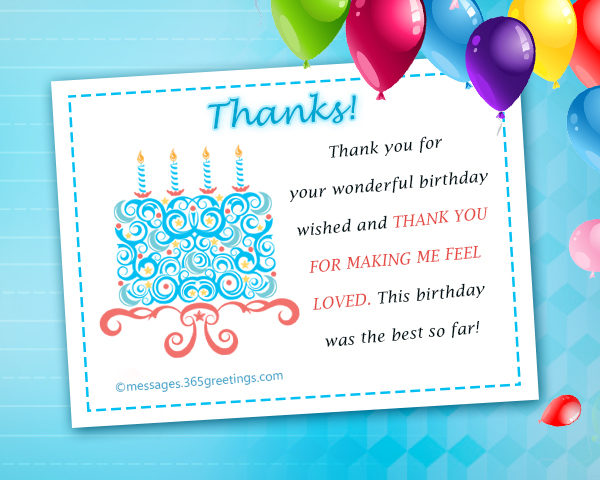 Thank you message for birthday wishes on facebook 365greetings thank you message for birthday wishes on facebook m4hsunfo Images