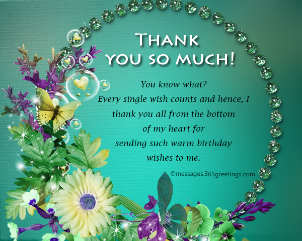 Thank you message for birthday wishes on facebook 365greetings thanks all for love support and beautiful birthday greetings i have got the best facebook family ever m4hsunfo