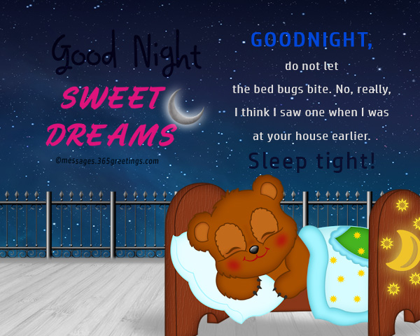 Funny Good night messages - 365greetings.com