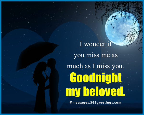 Goodnight Messages For Him 365greetingscom