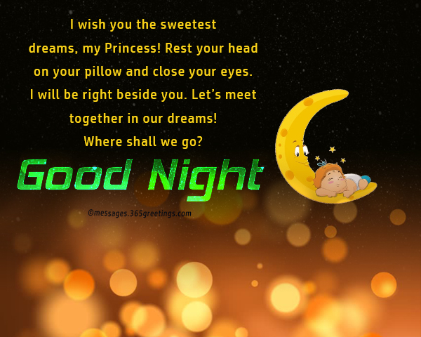 Cute goodnight quotes - 365greetings com