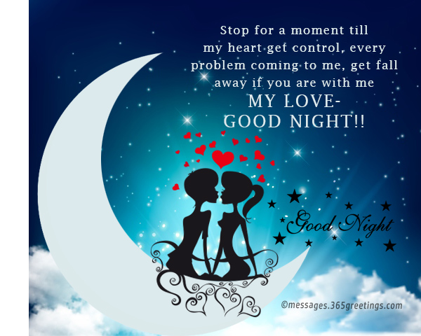 Good night images with love quotes in english