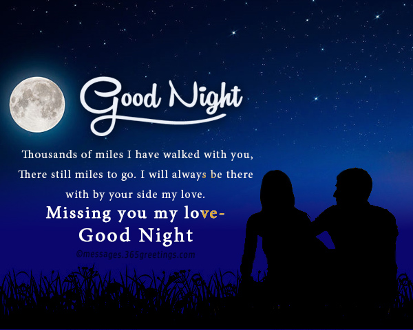 Good Night Message For Lover 365greetings Com