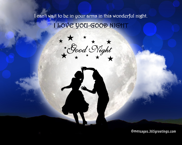 Good night message for lover - 365greetings com