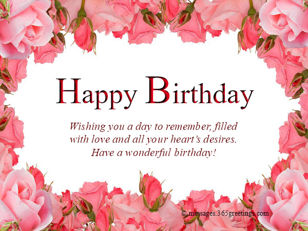 With Pink Roses Are Frame And A Hearty Birthday Message Any One Would Be Delighted On Their Upon Receiving It