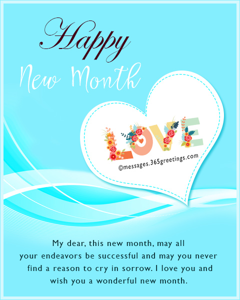 New Month Messages and Wishes - 365greetings com