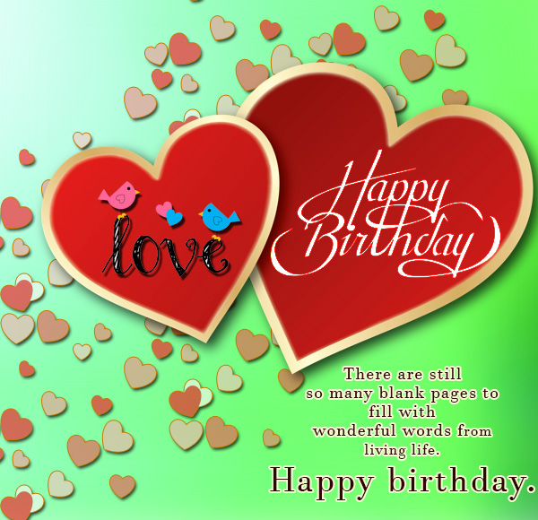 Romantic Birthday Love Messages: Birthday Wishes Images And Happy Birthday Picture Cards