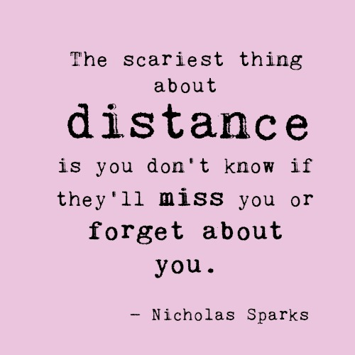 Fine Sad Quotes For Long Distance Contemporary - Valentine Ideas ...