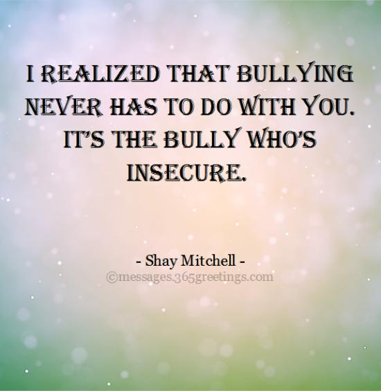Bullying Quotes And Sayings With Image 60greetings Beauteous Quotes About Bullying