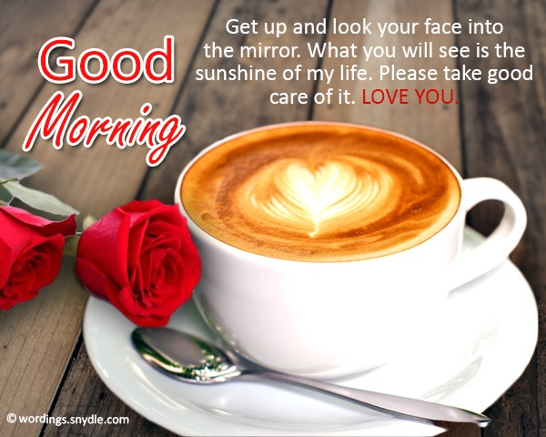 Good Morning Messages For Him: Good Morning Messages For Him