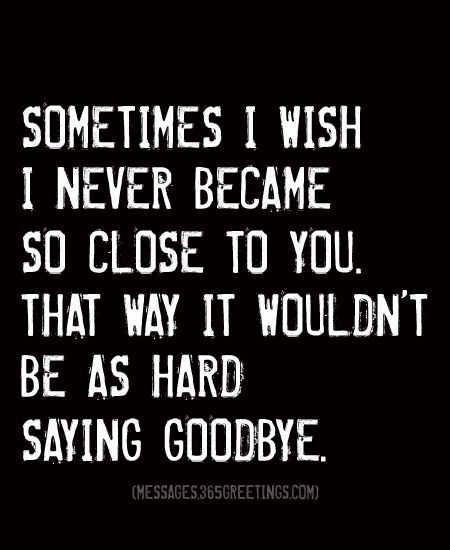 90+ Goodbye Quotes And Sayings With Image