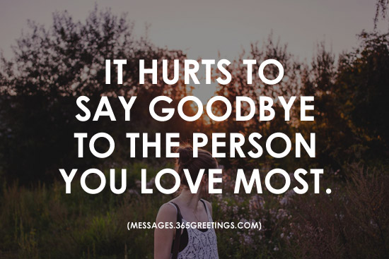 Quotes About Saying Goodbye To Someone You Love Nemetas