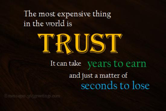 Top Quotes on Trust with Images - 365greetings.com