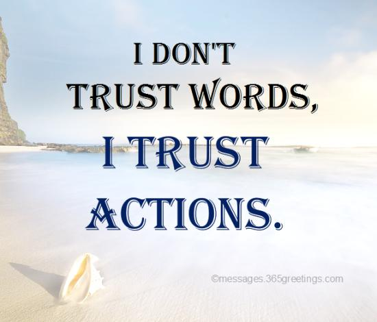 Top Quotes On Trust With Images 365greetingscom