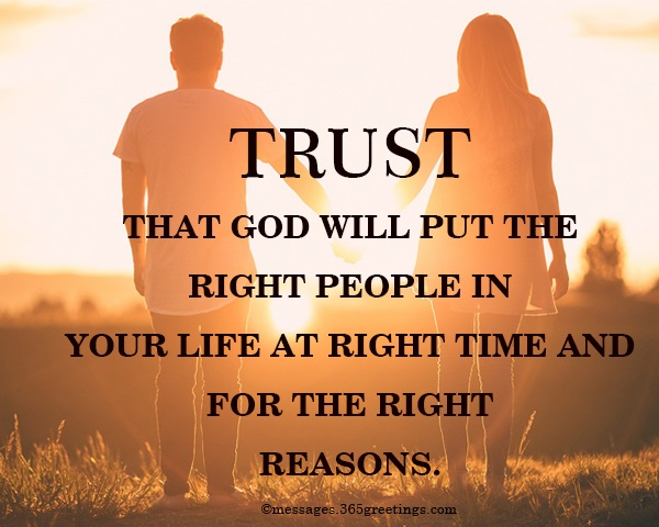 god puts people in your life for a season